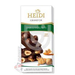 Heidi Grand'or Egész Mogyorós Étcsokoládé [100g]