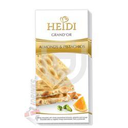 Heidi Grand'or Mandula-Pisztáciás Fehércsokoládé [100g]