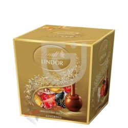 Lindt Lindor Csokoládégyolyó Válogatás Ajándékdobozban [250g]