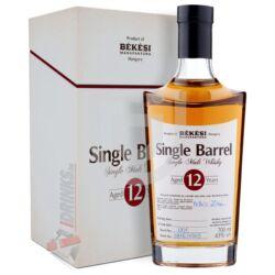 Békési Manufaktúra Single Barrel 12 Éves Whisky (DD) [0,7L 43%]