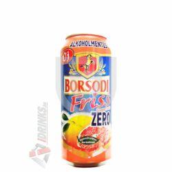 Borsodi Friss Zero Grapefruit Alkoholmentes /Dobozos/ [0,5L|0,5%] [24db/pack]