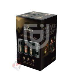 Glenfiddich Tasting Collection Whisky Set (Ajándék pohárral) [3*0,2L 40%]