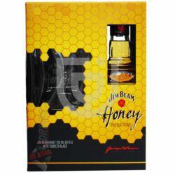 Jim Beam Honey Whiskey (DD+Pohár) [0,7L 35%]