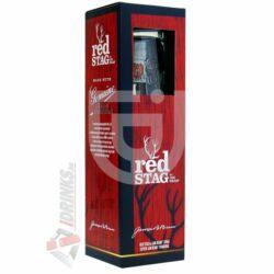 Jim Beam Red Stag Whiskey (DD+Pohár) [0,7L 40%]