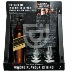 Johnnie Walker Double Black Whisky  (Display+2 Pohár) [0,7L|40%]