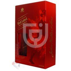 Johnnie Walker Red Label Whisky (DD+ Pohár)  [0,7L 40%]