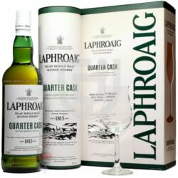 Laphroaig Quarter Cask Whisky (DD+Pohár) [0,7L|48%]