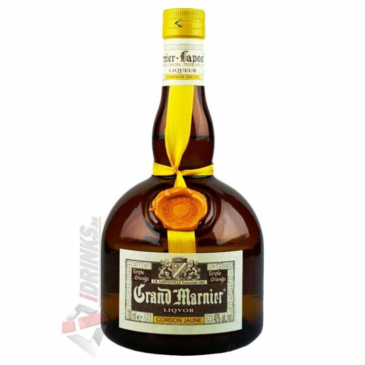 Grand marnier jaune lik r 0 7l 40 lik r kr mlik r for Grand marnier cordon jaune aldi