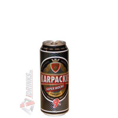 Karpackie Super Mocne 9% sör 0,5 liter